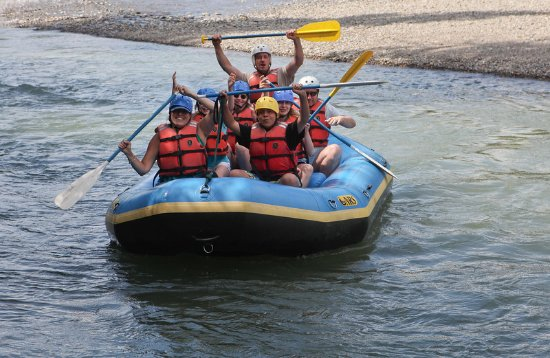 Three Bars Guest Ranch: River Rafting