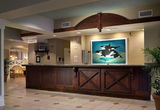Residence Inn Orlando at SeaWorldR: Front Desk
