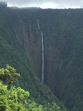 Kukuihaele, Hawái: Hi'ilawe Falls, all 1,200 fee of them!