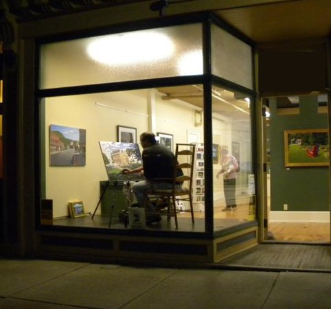 Bristol, VT: My painting window