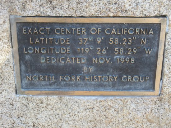 ‪Exact Center of California‬