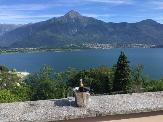 Trezzone, Italia: the view