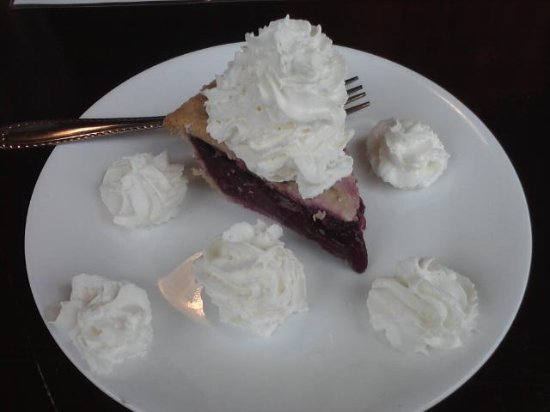 Steady Eddy's Cafe: Pie with extra whipped cream