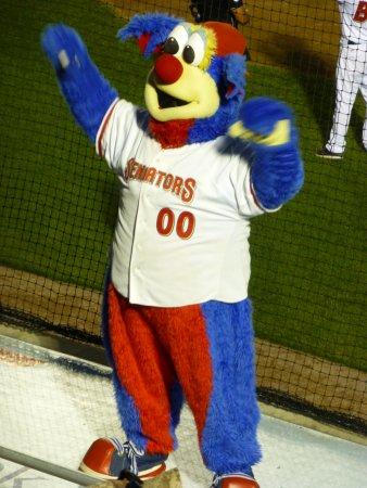 Metro Bank Park: Rascal, the team's mascot