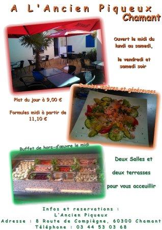 Chamant, Frankrijk: a l'ancien piqueux