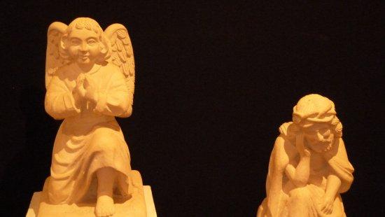 Muzeum Nikifora Krynickiego : Скульптуры из дерева К.Идзи