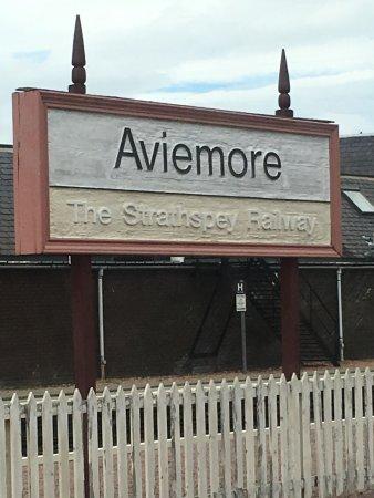 Aviemore, UK: Strathspey Railway