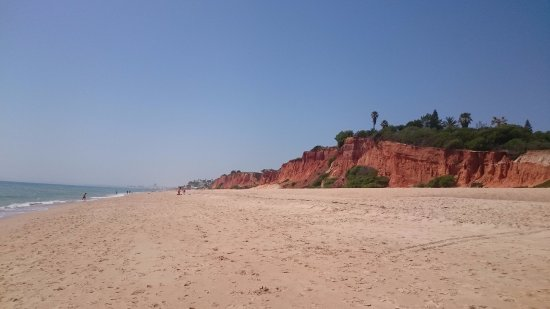 Garrao Nascente Beach: If you walk to the left from the parking lot.