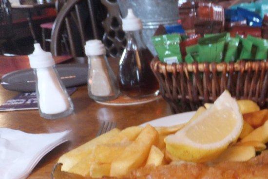 Torcross, UK: Not steak & chips