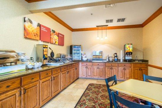 Batesville, AR: Breakfast area