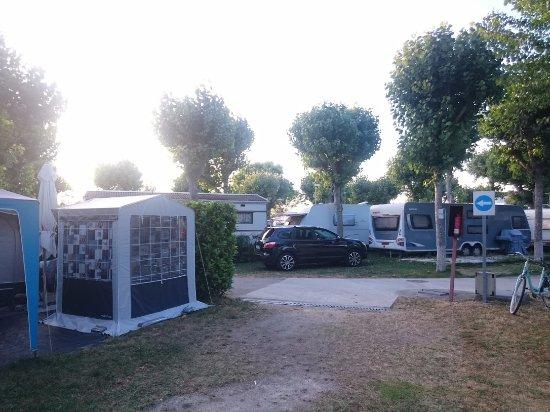 Vista De La Parte Derecha Desde Nuestra Parcela Picture Of Camping Playa America Nigran Tripadvisor