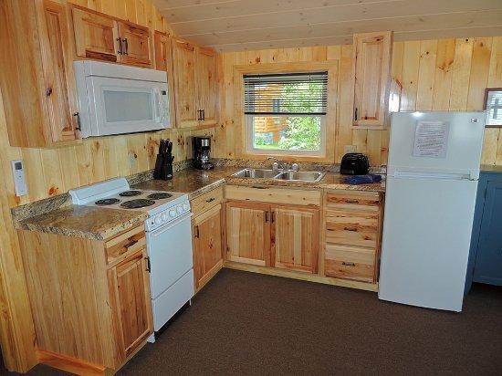 Cape Vincent, Nowy Jork: Kitchen in cottage #25
