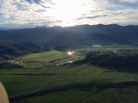 Fraser, CO: Sunrise over the divide at 10000 feet - exhilarating!
