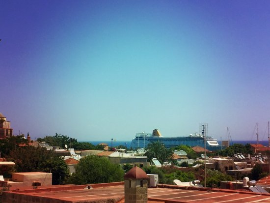 S. Nikolis Hotel & Apartments: Roof Top Terrace