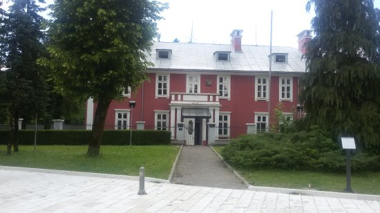 The building of the former Embassy of Great Britain in Montenegro
