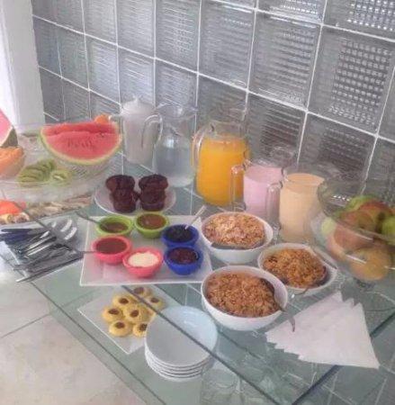 Manantiales, Uruguay: café da manhã