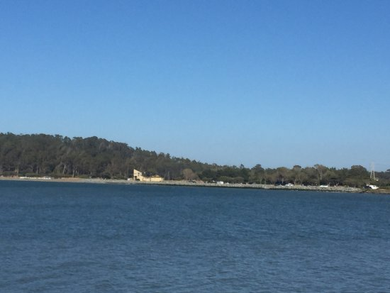 San Mateo, Kalifornien: View From Bay Trail in Coyote Point