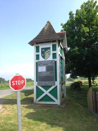 Le Tronchet, France: Ingang van het Golf Resort Saint Malo