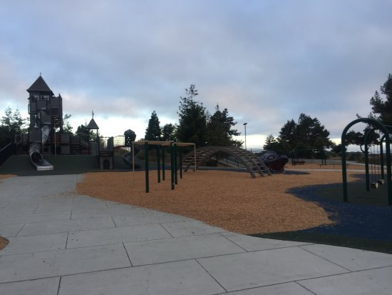 San Mateo, CA: Coyote Point Magic Mountain Playground