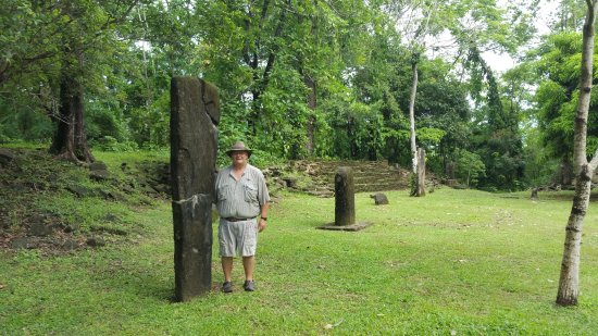 Toledo District, Belize: There are 26 Stelae at this site