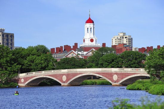 Holiday Inn Express & Suites Boston - Cambridge: Harvard over the Charles River