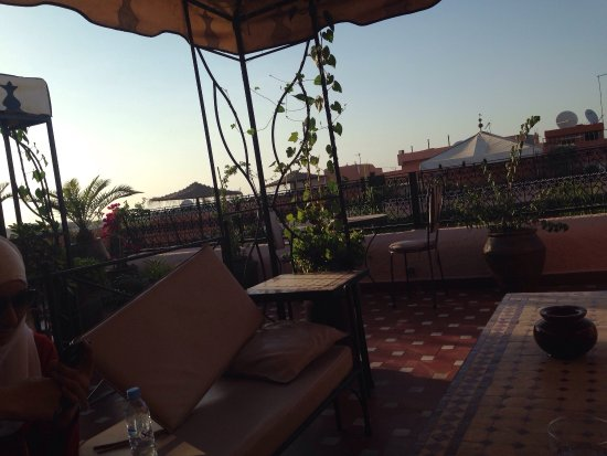 Riad Amina: Amazing view!