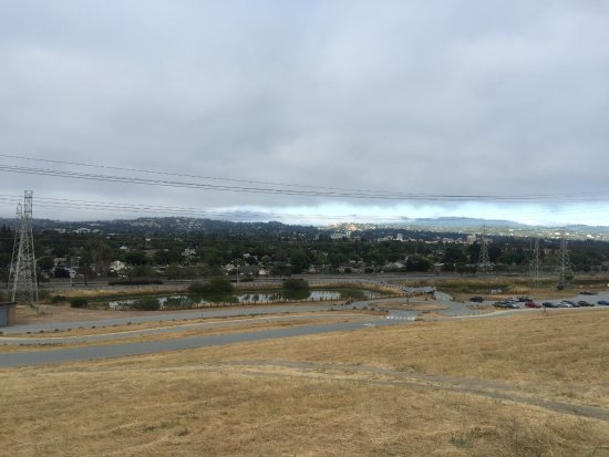 View of San Mateo From Above
