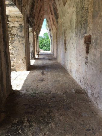 National Park of Palenque: Corbel arch inside El Palacio