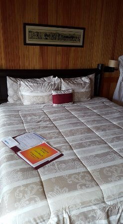 Lincoln City, OR: Room 7 ~ Love Shack New Bedding!