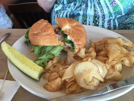 Comstock Park, Μίσιγκαν: Chicken club sandwich