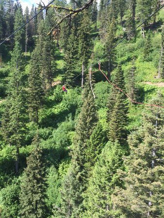 Tamarack, ID: We were pretty high up!