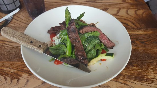 Busboys and Poets: Steak and asparagus salad :)