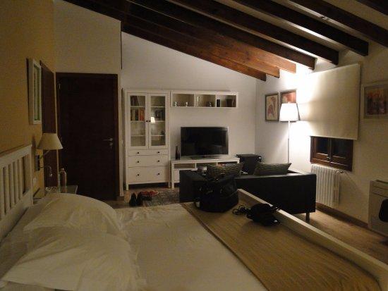 Sa Torre de Santa Eugenia: our junior suite