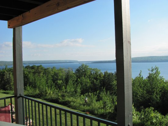 Holiday Inn Express Munising -  Lakeview: View off balcony