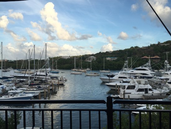 American Yacht Harbor: View of Yacht Harbor