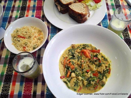 Restaurant Fe: Curry con leche de coco