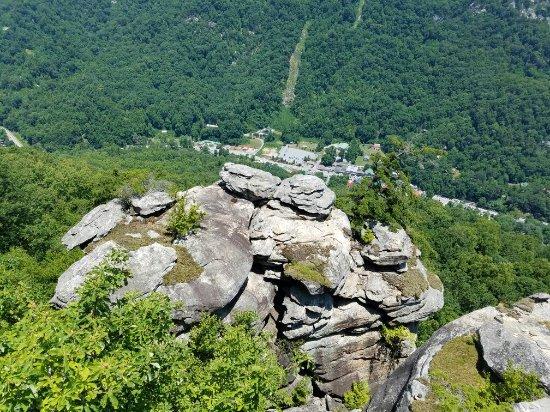 Chimney Rock, Carolina do Norte: 20160705_125733_large.jpg