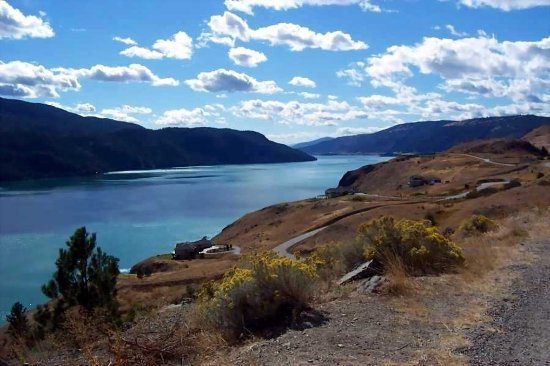 Kalamalka Lake winds through the peaceful town of Vernon