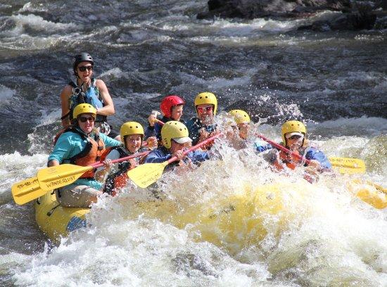 "Laporte, CO: The ""Taste"" whitewater rafting Poudre River - Wanderlust Adventure"