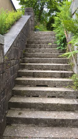 Princetown, UK: Steps only access to chapel annexe