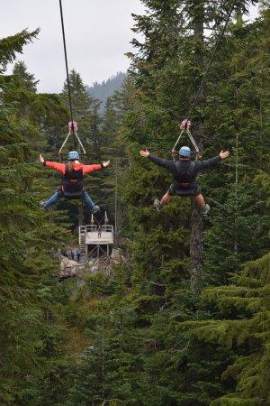 North Vancouver, Canadá: Zip lines