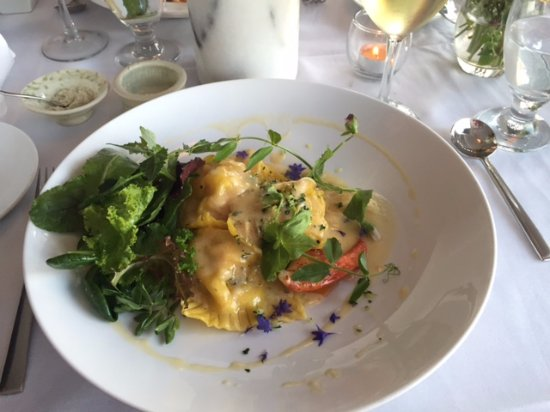 Stonington, ME: Lobster Ravioli