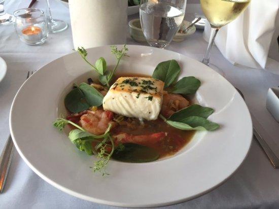 Stonington, ME: Haddock bouillabaisse