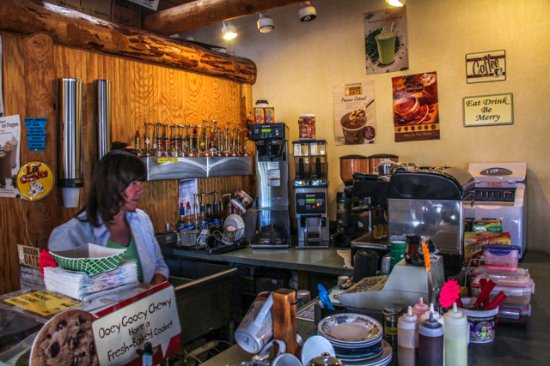 Silver City RV Park: Coffee Shop