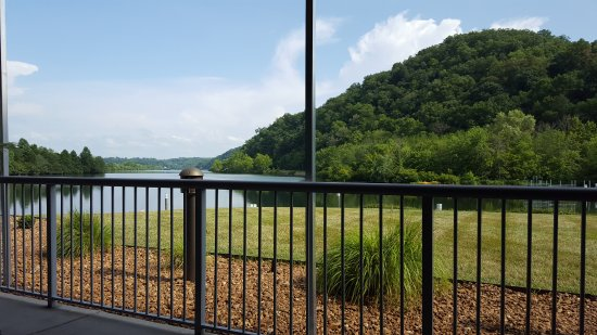 Oak Ridge, TN: Our view from our outdoor seating.