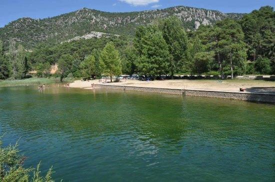Canamares, Spain: zona de baño proxima