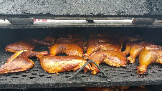 Wildwood, FL: This must be chicken month cause customers are eating it up.