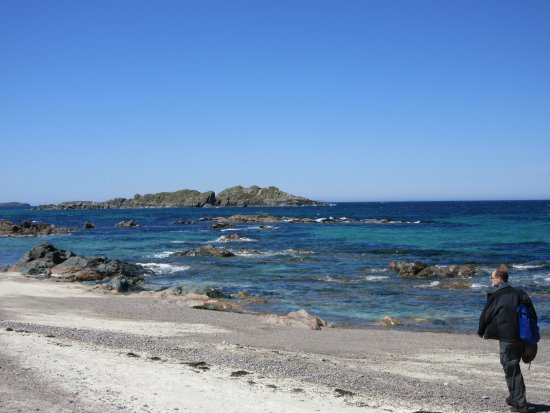Isle of Iona, UK: fun, with good special rocks on the beach