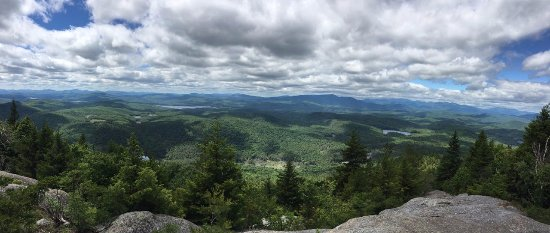 Schroon Lake Bed and Breakfast: View from top of nearby Pharaoh Mountain
