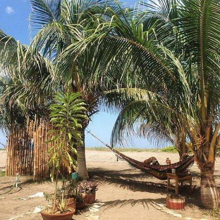 Poneloya, Nicaragua: Hangout area